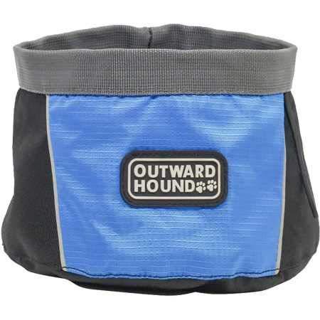 Outward Hound 48 oz Port A Bowl Portable Dog Dish