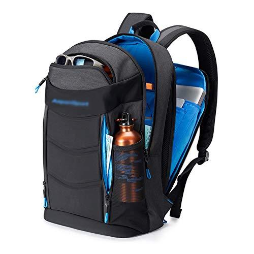 QYUU University Computer Backpack, Fashion Trend Travel Hiking Backpack, Junior High School Student And High School Student School Bag, Male/lady Backpack Waterproof C