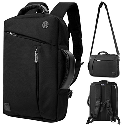 Laptop and Tablet Backpack Messenger Shoulder Bag Briefcase for iPad Pro 12.9 inch Surface Pro X 7 6 4 Google Pixel Slate HP Chromebook