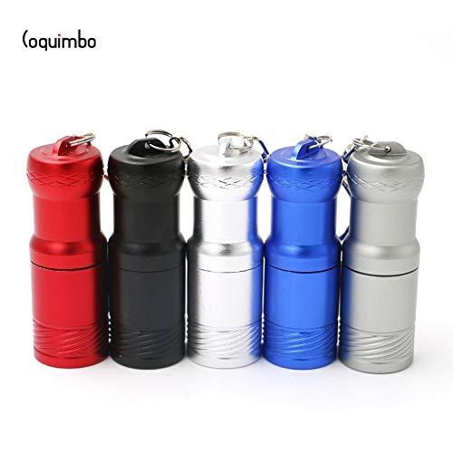 Gris : de Coquimbo Super Mini 2000LM XM-L T6 Lampe de poche d'alimentation par 1 * CR123 A ou 16340 batterie Porte-clés Super Bright Lampe torche lumière