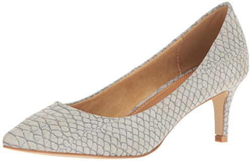 Athena Alexander Women's Tikaa Dress Pump, Grey Crocodile, 8 M US