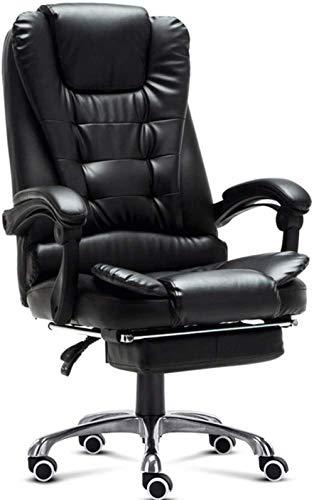 Las sillas de Escritorio, Silla de la computadora Silla de Oficina ergonómica Soporte Lumbar Armas del balanceo Giratorio Silla ejecutiva de Dolor de Espalda Sillón