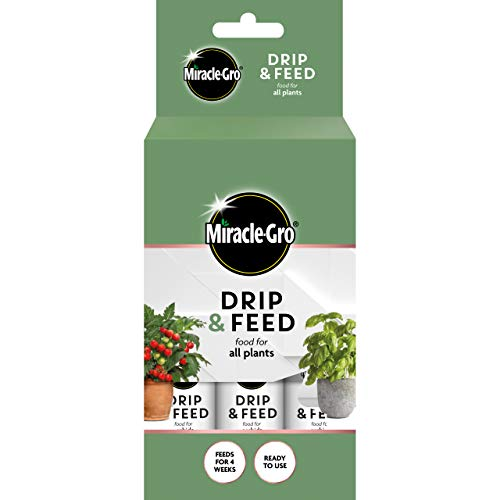 Miracle-Gro 119901 Drip & Feed All Purpose Food-3PACK Houseplant Food,...