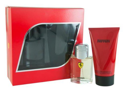 Ferrari Red 75 ml Eau de Toilette + 150 ml Duschgel Geschenkset für Ihn, 1er Pack (1 x 225 ml)