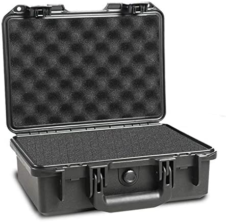HILDRYN Waterproof Camera Hard Case with Foam Black 13 18x10 23x5 12 inches Hard Shell Protective product image
