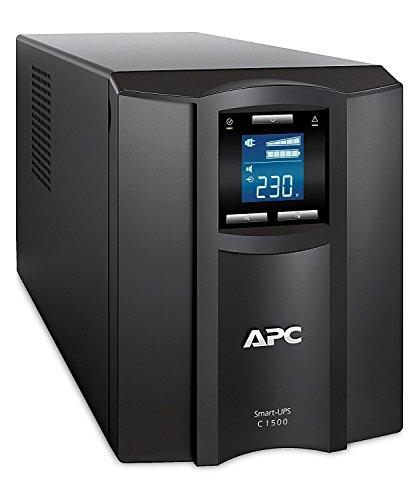 APC Smart-UPS SMC SmartConnect - SMC1500IC - Unterbrechungsfreie Stromversorgung 1.500VA (Cloud-monitoring fähig, 8 Ausgänge IEC-C13)