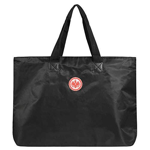 Eintracht Frankfurt Strandtasche Shoppingbag Tasche (one s, schwarz)
