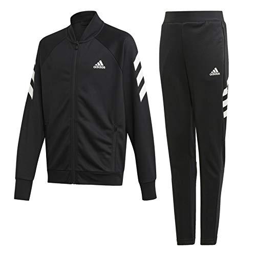 Adidas XFG Junior - Conjunto de chándal Negro 7 años