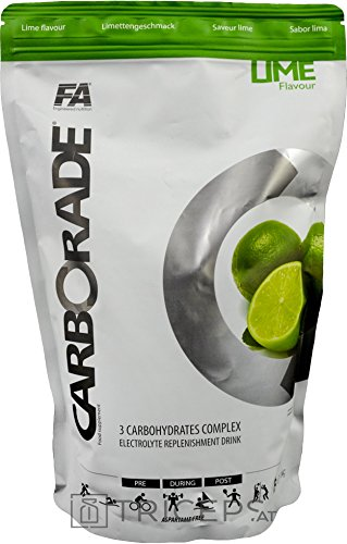FITNESS AUTHORITY CARBORADE BAG 1 KG Lime