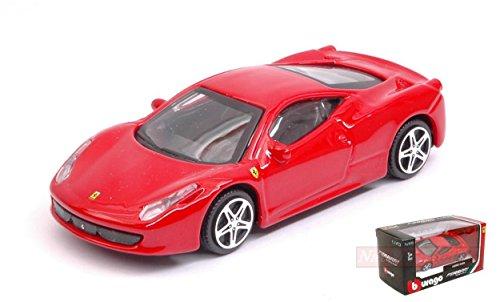 Burago Modelo A Escala Compatible con Ferrari 458 Italia Red 1:43 BU31103R