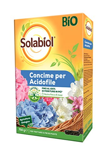 Solabiol Concime Piante Acidofile Granulare Biologico, Giallo