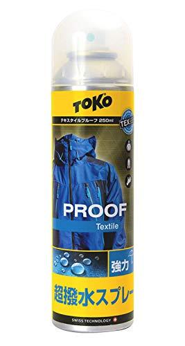 トコ(TOKO) スキー スノーボード レインウェア用 防水スプレー テキスタイルプルーフ 250ml フッ素配合 5582623