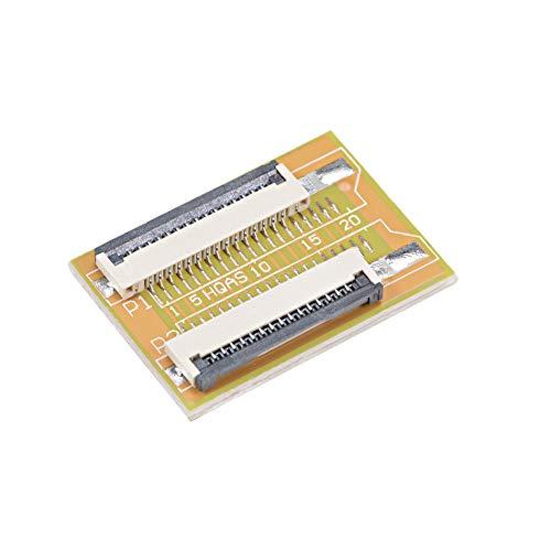 sourcing map Conector FFC//FPC 15Pin de 1.0mm de Paso Toma de Dibujo de Selecci/ón de Contacto Inferior 10uds