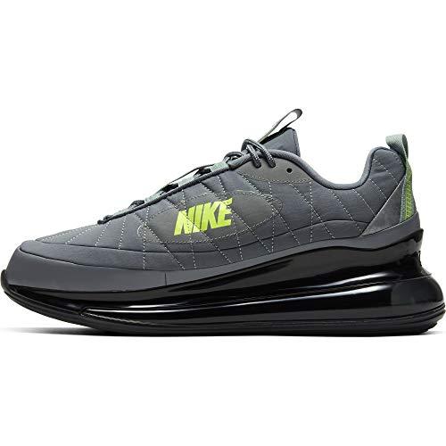 Nike MX-720-818, Scarpe da Corsa Uomo, Smoke Grey/Smoke Grey-Black-Volt, 41 EU