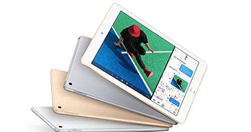 Apple iPad with WiFi, 128GB, Space Gray (2017 Model)