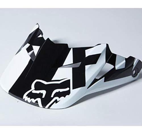 Fox Racing Race Visor Men's MX15 V1 Off-Road Motorcycle Helmet Accessories - Black/Medium/Large