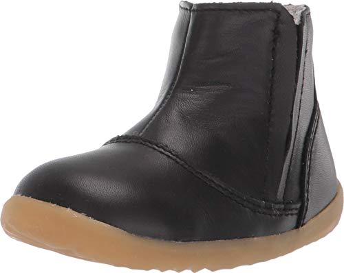 Bobux Step Up Shire-Merino Lined Winter Boot Black est une chaussure en cuir, doublure en laine mérinos, semelle souple - Noir - Noir , 20 EU EU