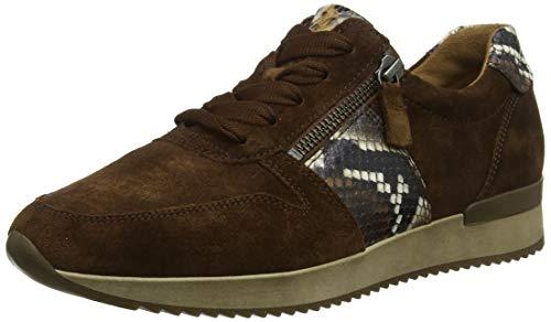 Gabor Shoes Damen Jollys Sneaker, Braun (Whisky Kombi 18), 39 EU