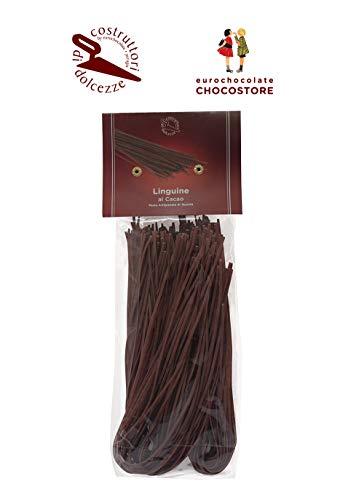 Eurochocolate LINGUINE AL CACAO - Pasta di semola di grano duro alta qualità Confezione 250gr.