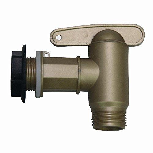 Garantia 4-teiliges Wasserauslauf-Set Aqua Quick für Regenspeicher inkl. Zubehör, 3/4 Zoll