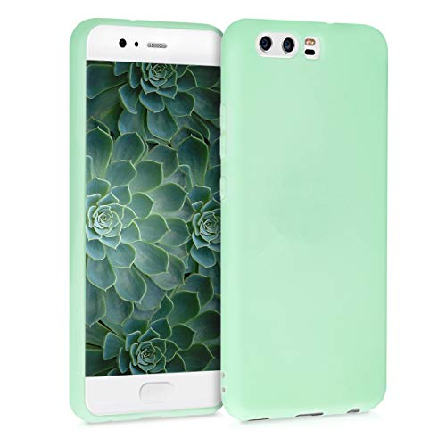 kwmobile Cover Compatibile con Huawei P10 - Custodia in Silicone TPU - Backcover Protezione Posteriore- Menta Matt