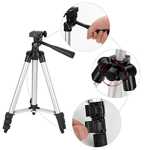 ZXGHS Universal Projector Floor Stand, Adjustable Distance 35Cm-102Cm / Aluminum Camera Projector Tripod for Home Theater/Entertainment And Presentation