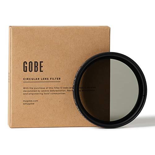 Gobe NDX 46 mm Variabler Graufilter ND2-400 ND Filter (1Peak)