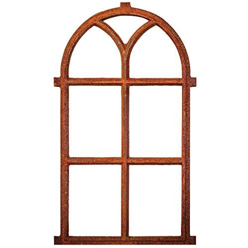 aubaho Nostalgie Stallfenster 100x59cm Fenster Scheunenfenster antik Stil Eisenfenster