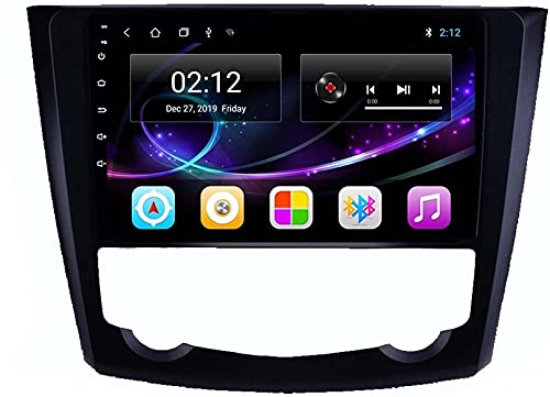 Dmnsdd Coche Estéreo Android 10.0 Radio Para Kadjar 2016-2018 Gps Navigation Gps Unidad De Cabeza De 9 Pulgadas Hd Pantalla Táctil Hd Mp5 Multimedia Player Vid(Size:ocho núcleos,Color:WIFI:4GB+64GB)