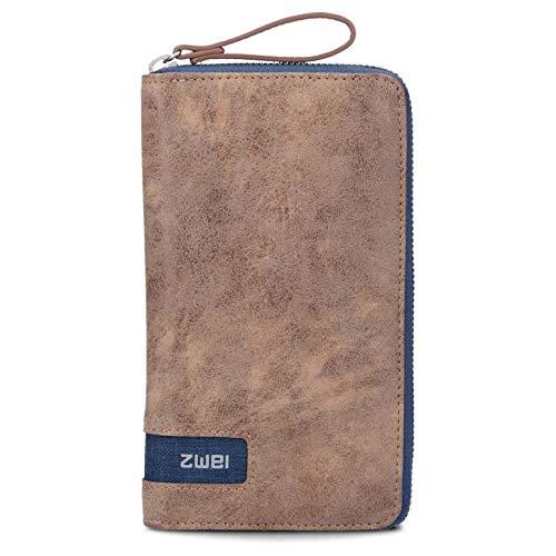zwei O.Wallet OW2 Börse 19 cm Blue