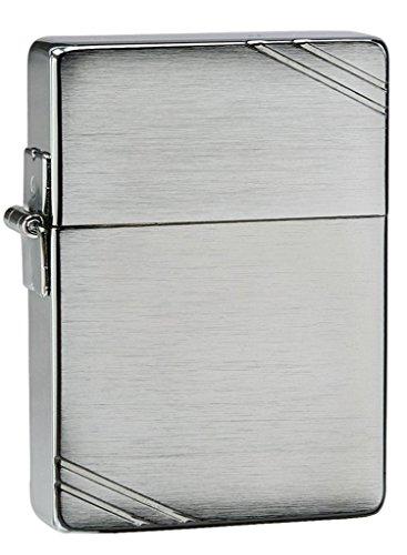 Zippo Original Zippo 1935 Replica mit Streifen - Diamantgravur vorne & hinten: Text/Bild/Logo und Platzierungswunsch extra per E-Mail Diamantgravur Beidseitig