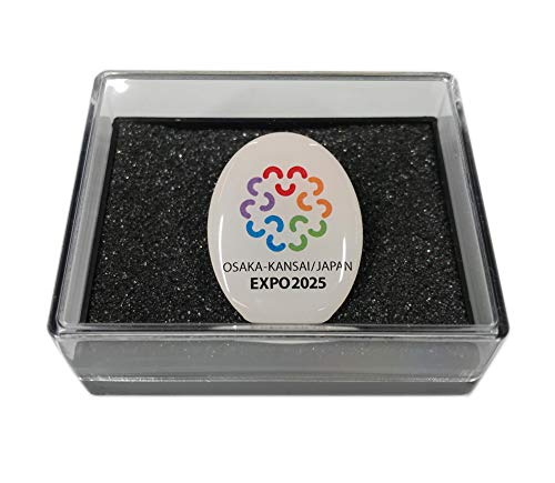 EXPO 2025 大阪万博 ピンバッジ ケース付