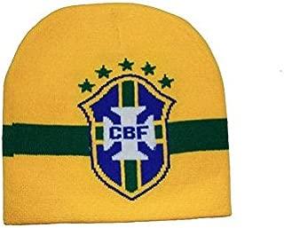 Brasil Brazil CBF Logo FIFA Soccer World Cup Toque Hat .. New