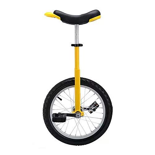 HWLL Einräder 16/18 Zoll Kinder Einrad, Ergonomisches Sattel Single Wheel Balance Bike, zum Jonglieren/Unterhalten...