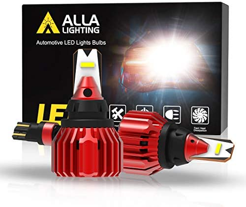 Alla Lighting Xtreme Super Bright T15 912 921 LED Bulbs Back up Reverse Lights 3000 Lumens CANBUS product image