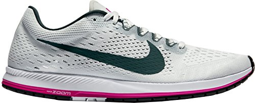 Nike Zoom Streak 6 Mens Running Trainers 831413 Sneakers Shoes (UK 3.5 US 4 EU 36, Bright Crimson Blue Fox White 614)