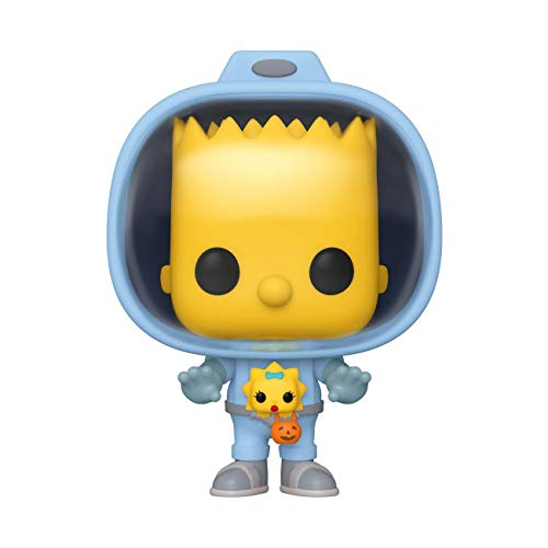 Funko- Pop Animation: Simpsons-Bart w/Chestburster Maggie Figura Coleccionable, Multicolor (50138)
