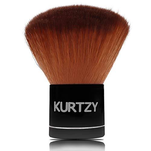 Kabuki Pinsel - 7cm Puderpinsel mit Weicher Kunstfaser - Kabuki Bilden Pinsel für Puder, Make-up,...