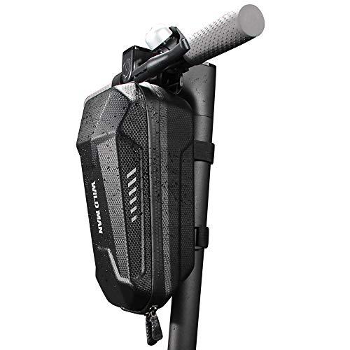 Lixa-da EVA PU 2L/3L Bolsa Colgante de Manillar Delantera para Patinete Bolsa para Material Impermeable para el Tubo Frontal de Scooter Eléctrico