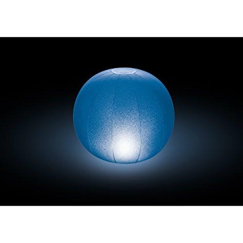 Intex Schwimmende LED-Ballleuchte mit mehrfarbiger Beleuchtung, batteriebetrieben