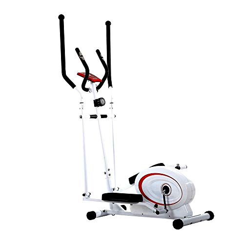 AJH Elliptical Machine Elliptical Machine Trainer Quiet Driven Elliptical Trainer Exercise Cross Trainer Machine Workout For Home,small Rooms,apartments Home Trainer Machine