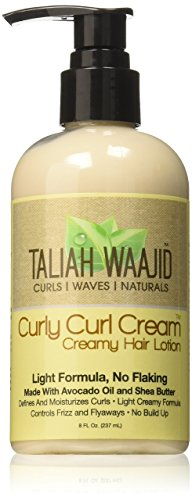 Beauty Shopping Taliah Waajid Curly Cream Creamy Hair Lotion,8 oz