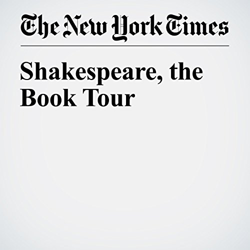 Shakespeare, the Book Tour audiobook cover art