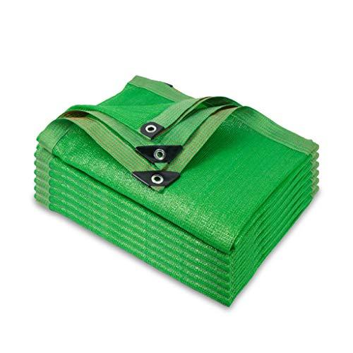 Paño protector solar Shade Paño de Sombreado Verde de 10 Pines, Cifrado Espesar Protector Solar Suculenta Tela de Sombra Balcón Al Aire Libre Techo Patio Patio Malla de Enfriamiento Malla Parasol