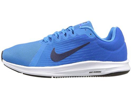 Nike Damen Downshifter 8 Laufschuhe, Blau (Blue Glow/Midnight Navy-Light Photo Blue 403), 36 EU