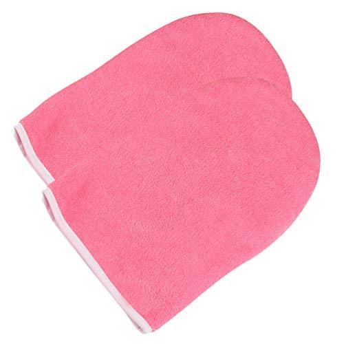 Healifty guanti per paraffina terapia della terapia della cera cerata copri guanto spa terapia della terapia con bagno di paraffina per spa cera calda