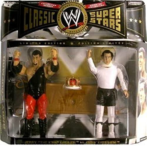 WWE Classic Superstars Series 8 2-Pack Jerry the King Lawler, Andy Kaufman by WWE Classic Superstars Limited Edition