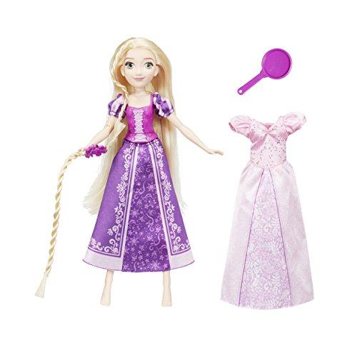 Hasbro Disney Prinzessin E2068EU4 Abenteuerlustige Rapunzel, Puppe