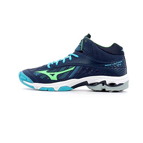 Mizuno Wave Lightning Z4 Mid - Zapatillas de running para hombre, color azul