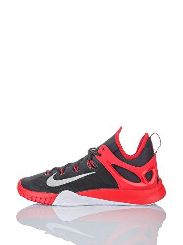 Nike Herren Zoom Hyperrev 201 Basketballschuhe, schwarz/rot, 41 EU